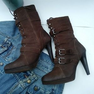 Rugged Style Ankle Boots